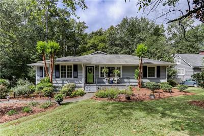 Smyrna Single Family Home For Sale: 3214 Dunn Street SE