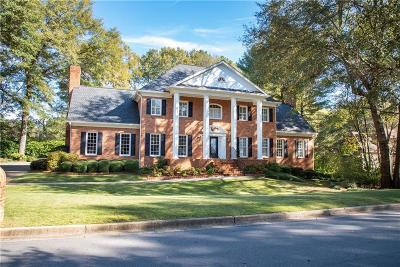 Johns Creek Single Family Home For Sale: 8855 River Trace Drive