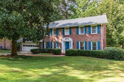 Brookhaven Single Family Home For Sale: 1274 Sunderland Court NE