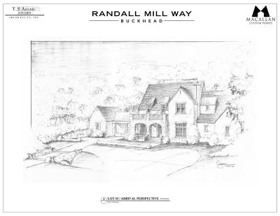 Single Family Home For Sale: 1744 Randall Mill Way