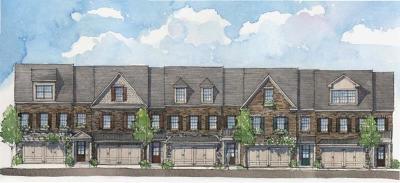 Roswell Condo/Townhouse For Sale: 3176 Havencroft Drive NE
