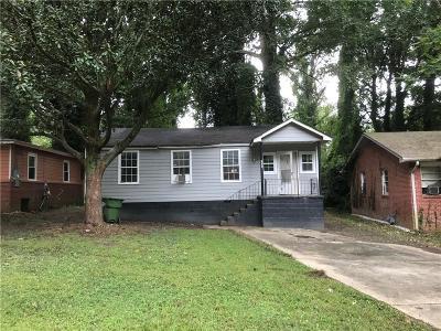 Single Family Home For Sale: 1492 Akridge Street NW