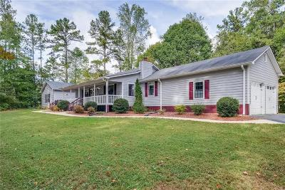 Single Family Home For Sale: 1000 Mars Hill Road NW