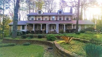 Marietta Single Family Home For Sale: 893 Hickory Drive SW