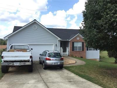 Winder Single Family Home For Sale: 209 Bayou Lane