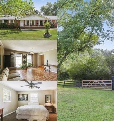 Acworth Single Family Home For Sale: 5266 Cedarcrest Road