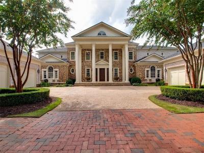 Alpharetta GA Single Family Home For Sale: $3,050,000