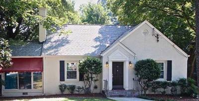 Atlanta Single Family Home For Sale: 2925 N Hills Drive NE