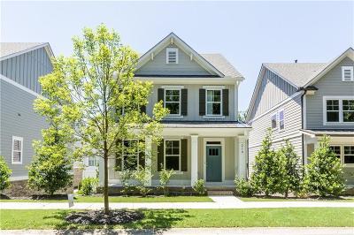 Woodstock Single Family Home For Sale: 210 Highland Park Walk