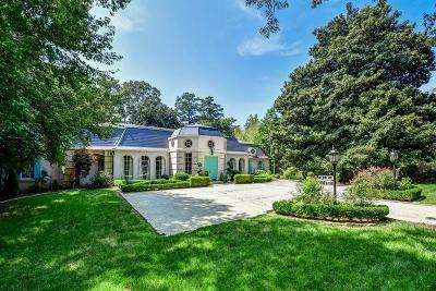 Atlanta Single Family Home For Sale: 274 W Paces Ferry Road NW