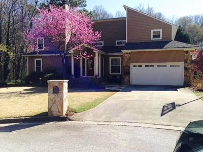 Sandy Springs Single Family Home For Sale: 205 Seville Chase