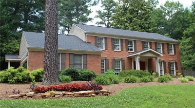 Marietta Single Family Home For Sale: 106 Pheasant Drive SE