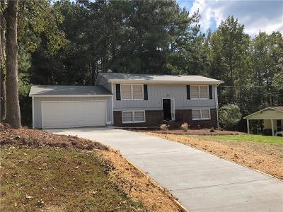 Kennesaw Single Family Home For Sale: 1018 Shady Lane NW