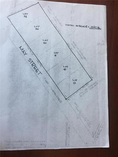 Canton Land/Farm For Sale: May Street