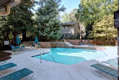 Sandy Springs Condo/Townhouse For Sale: 8740 Roswell Road #4D