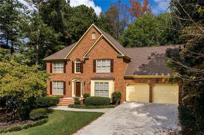 Acworth Single Family Home For Sale: 5812 Fairwood Walk NW