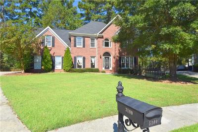 Suwanee Single Family Home For Sale: 5100 Winding Rose Drive