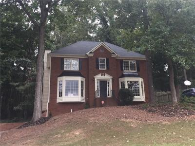 Marietta Single Family Home For Sale: 3075 Milford Chase SW