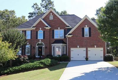 Dacula Single Family Home For Sale: 1521 Grove Arbor Court