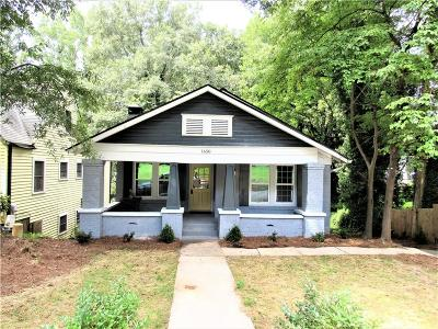 Single Family Home For Sale: 1650 Orlando Street SW