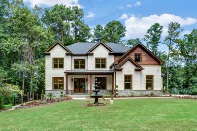 Brookhaven Single Family Home For Sale: 4311 Ashwoody Trail