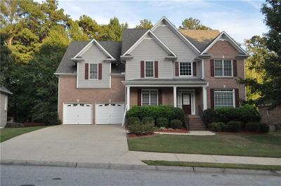 Powder Springs Single Family Home For Sale: 2845 Lost Lakes Way