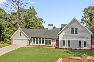 Marietta Single Family Home For Sale: 4221 Summit Drive