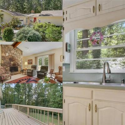 Roswell  Single Family Home For Sale: 11350 Cranwood Cove