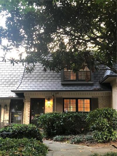 Atlanta Condo/Townhouse For Sale: 10 Vista Square NW