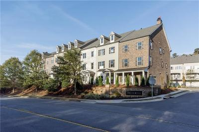 Alpharetta Condo/Townhouse For Sale: 1910 Forte Lane
