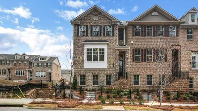 Dunwoody Condo/Townhouse For Sale: 4244 Townsend Lane #52