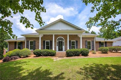 Roswell Single Family Home For Sale: 380 Saddle Lake Drive