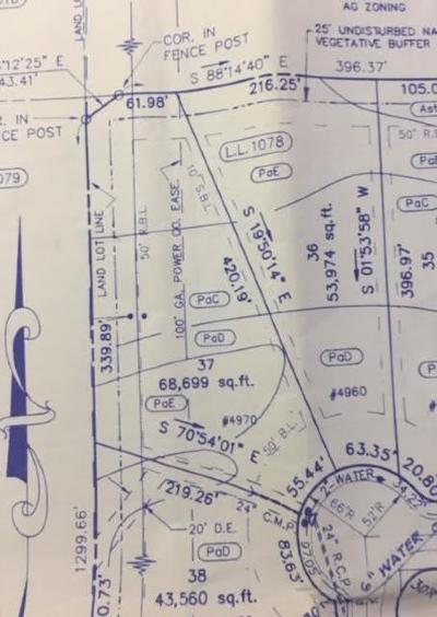 Cumming Residential Lots & Land For Sale: 4970 Hyde Way