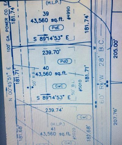 Cumming Residential Lots & Land For Sale: 5010 Hyde Way