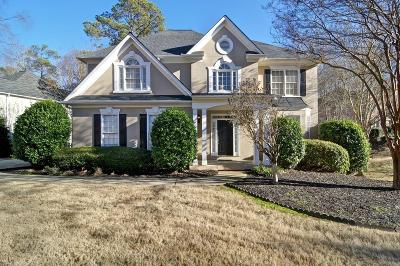 Woodstock Single Family Home For Sale: 1014 Deer Hollow Drive