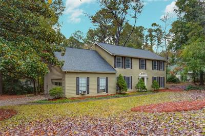 Roswell Single Family Home For Sale: 9790 Loblolly Lane