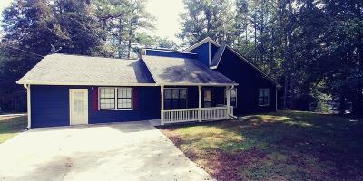 Powder Springs Single Family Home For Sale: 4483 Lindsey Drive