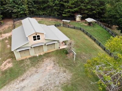 Canton Land/Farm For Sale: 626 Byrd Mountain Lane