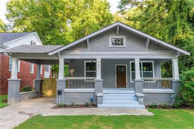 Single Family Home For Sale: 932 Cascade Road SW