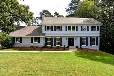 Dunwoody Single Family Home For Sale: 1757 N Springs Drive