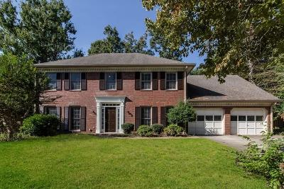 Kennesaw Single Family Home For Sale: 205 Lakeside Drive NW