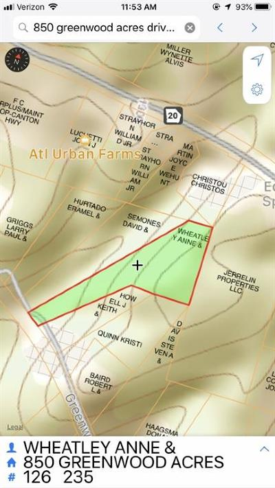 Cumming Residential Lots & Land For Sale: 850 Greenwood Acres Drive