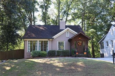 Peachtree Hills Single Family Home For Sale: 289 Lindbergh Drive NE