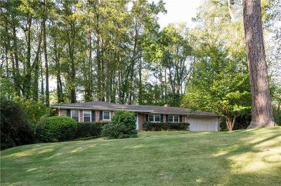 Sandy Springs Single Family Home For Sale: 540 High Point Lane