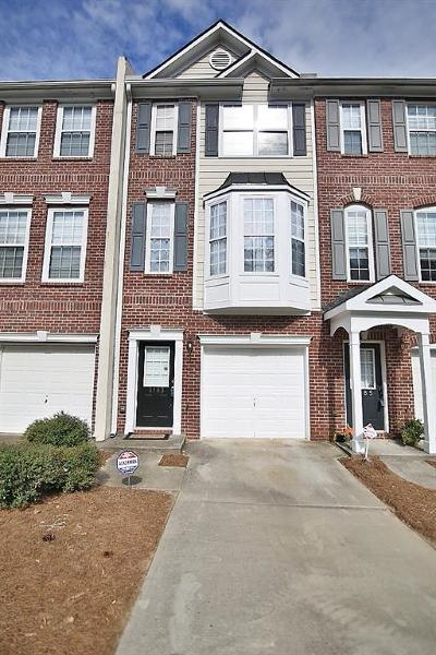 Buford Condo/Townhouse For Sale: 3183 Mill Springs Circle
