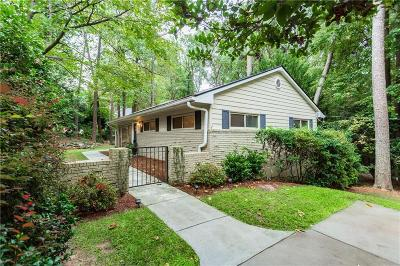Brookhaven Single Family Home For Sale: 2449 Wawona Drive NE