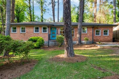 Decatur Single Family Home For Sale: 3354 Pinehill Drive