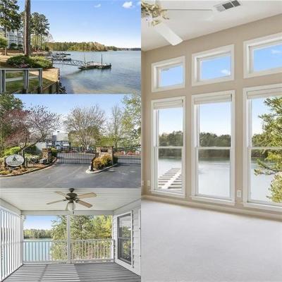 Alpharetta, Cumming, Johns Creek, Milton, Roswell Condo/Townhouse For Sale: 2100 Habersham Marina Road #302D