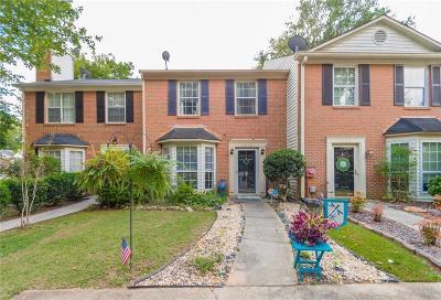 Smyrna Condo/Townhouse For Sale: 2956 Lexington Trace SE
