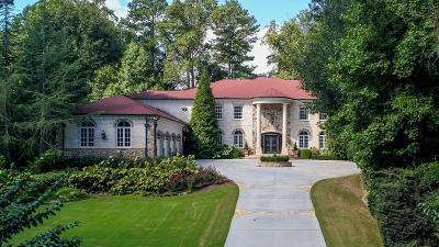 Atlanta Single Family Home For Sale: 5170 Peachtree Dunwoody Road
